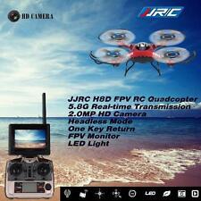 Top-sell JJRC H8D RC Quadcopter 5.8G FPV RTF Headless 2MP Camera Monitor LC