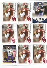 Sam Bradford RC + 18 card LOT Rams, Eagles, Vikings, Cardinals, Oklahoma