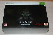 THE WITCHER 2 XBOX360 ENHANCED DARK EDITION LIMITED 0717 RARE!