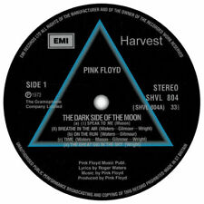 """PINK FLOYD DARK SIDE OF THE MOON QUALITY DECAL  VINYL STICKER 100MM  4"""",LP SIZE,"""