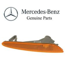 Mercedes W211 Front Passenger Right Side Marker In Bumper Turn Signal Light OES