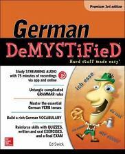 German Demystified, Premium 3rd Edition, Swick, Ed