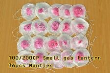 Double tie Small Size Mantles for Mini Gas Small Lantern 100-200cp 3 Dozen