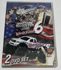 2005 Monster Jam Monster Truck World Finals 6 xi DVD 2 Discs Racing & Freestyle