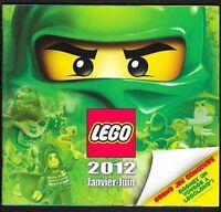 Lego - Catalogue Janvier-Juin 2012 - 84 pages - 21 x 19,5 cm