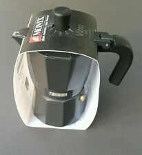 Espresso Coffee Maker Monix Vitro noir Cafetera Stove-top  3-cup New