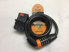 1m New Bike Combination Lock Bicycle Cycle Security Protect 4 Digit Numerical