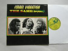 Israel Vibration ‎– The Same Song  LP NEAR MINT
