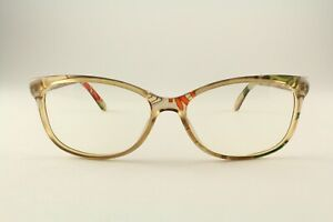 Authentic Gucci GG 3699 Z9X Clear Beige Print 54mm Glasses Frames RX-able