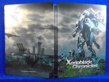 wii U XENOBLADE CHRONICLES X STEELBOOK ONLY Steel Book Casing *NO GAME* Nintendo