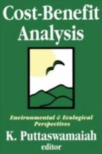 Cost-Benefit Analysis: With Reference to Environment and Ecology-ExLibrary