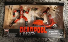 Marvel Legends Hasbro 80 Years Deadpool Corps New