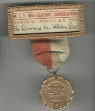 1949 M.I.T. pin Mid-Century CONVOCATION badge medal pinback