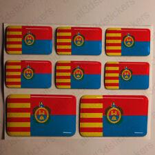 Pegatinas Elche España Pegatina Bandera Adhesivo Elx Ciudad 3D Relieve Resina