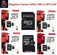 Kingston Lona seleccionar tarjeta de memoria Micro SD clase 10 - 16GB, 32GB, 64GB, 128GB