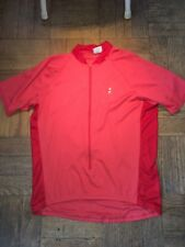 Cannondale Mens Cycling Jersey Size XL Red/Pastel