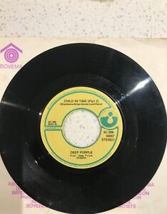 Deep Purple, Vinyl 7inch/45 -Child in Time- part 1 and 2