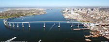 Aerial Picture Of Coronado Bridge And Downtown San Diego California Poster #9