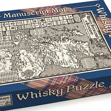 Whisky Map Jigsaw Puzzle - 1000 pieces