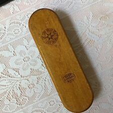 Vintage Star Brush Co. Ltd. Best British Brush, Wood Back Clothes Brush