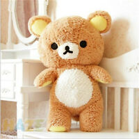 Stuffed Kawaii Rilakkuma Relax Brown Bear Soft Plush Staffed Toys Doll Gift 22""