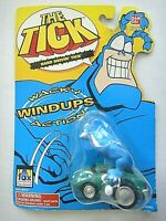 "The Tick ""HARD DRIVIN' TICK"", Wacky Wind-Ups Action (BanDai 1995) new"