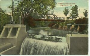 Waterville, Me., Pumping Station Dam