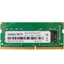 8Gb Pc4-17000 Ddr4 2133Mhz Pc4-2133P Sodimm Ram For Ibm Lenovo IdeaPad 510-15Isk