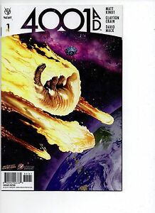 4001 AD #1 Valiant Space Cadets and Space City Con Variant Comic Book New