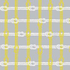 Maritime Modern Knotty Plaid Gray by Marin Sutton for Riley Blake, 1/2 yd fabric