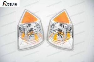 1Pair Front Corner Light Turn Signal Parking Lamps For Jeep Compass 2007-2010