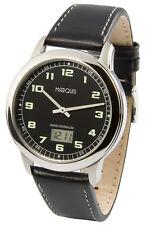 Herren Funkuhr (deutsches Funkwerk) Armbanduhr , fluoreszierende Zeiger 964.4903