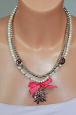 Modeschmuck-Halsketten & -Anhänger im Collier-Stil mit Perlen
