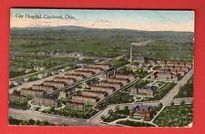 OHIO CITY HOSPITAL, CINCINNATI VINTAGE PC. USED 321
