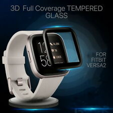For Fitbit Versa 2 Screen Protector Tempered Hd Full Coverage Glass Guard