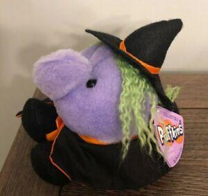 Puffkins Halloween witch plush Esmeralda Limited Edition