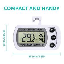 Termometro digitale per frigorifero Freezer Termometro frigo con LCD termometro