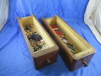 2 Nähmaschinenkasten Schublade Regal Dekohilfe Zubehör Aufbewahrung Sortierhilfe