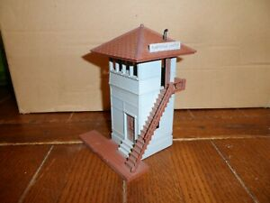 PLASTICVILLE O-S SCALE SWITCH TOWER  BILT