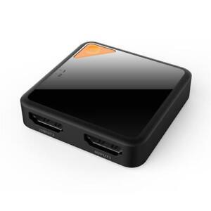 HDMI Switcher 4K HD Bidirektional 2 in 1 HDMI Splitter Kompatibel für DTS Dolby