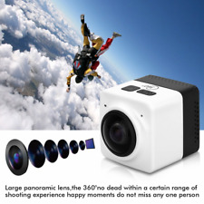 WIFI Panorama Camera Cube 360° Wide Angle Action Sports Camera Carry-on Video DV