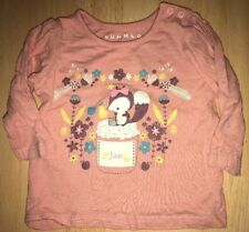 Baby girls pink top for 3-6 months from Nutmeg - excellent condition