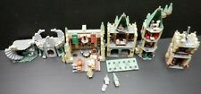 Harry potter Hogwarts lego Lot of 4 Dining Hall Towers Pre-constructed Sets