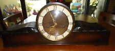 Vintage Juba German Wooden Mantel Clock