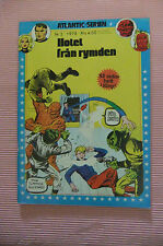 6.5 FN+ FINE FANTASTIC FOUR # 2 SWEDISH EURO VARIANT RRP SDCC OWP YOP 1978