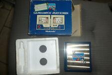 jeu nintendo game and watch rain shower 1983 TBE en boite +frigolite testé