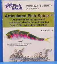 Articulated Fish-spine Fish skull u.s.a. game changer 24 shanks 10mm