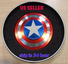 Captain America Shield New EDC Alloy Metal Fidget Spinner High Speed