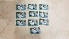 10 Lot Us Department of Interior $3 Ross' Geese Stamps 1970