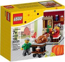 LEGO - THANKSGIVING FEAST/CHRISTMAS TEA/DINNER/DESERT/FOOD/MEAL - SET 40123